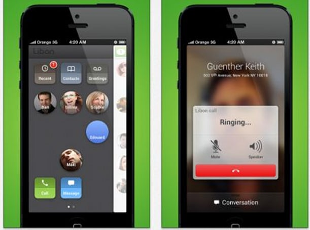 Orange Libon adds picture messaging to iOS app