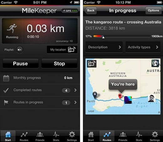 Daily iPhone App: Milekeeper lets you ride the Tour de France as you exercise