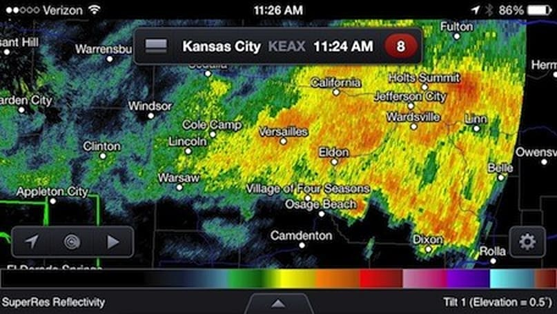 Friday Favorite: RadarScope for iOS provides detailed weather insight