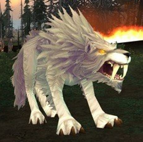 Tamed Worgen have become Winterskorn Worgs