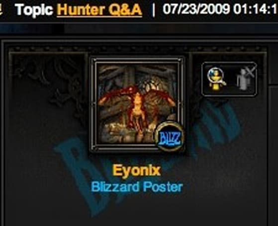 Ghostcrawler adds to Hunter Q&A