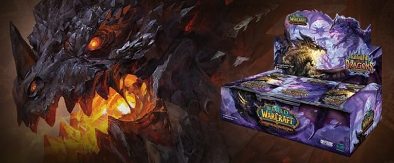 WoW TCG Twilight of the Dragons expansion in stores now