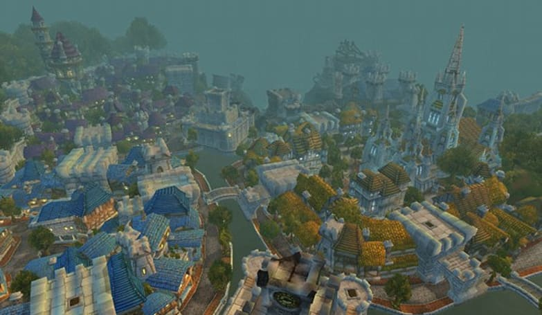 Look back on Azeroth's past with classic Eastern Kingdoms images