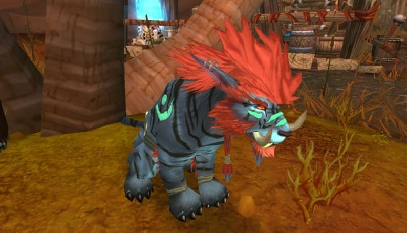 Troll druids at the end of Cataclysm