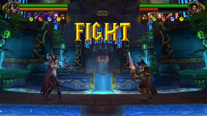 Would you play this mocked up Warcraft fighting game?