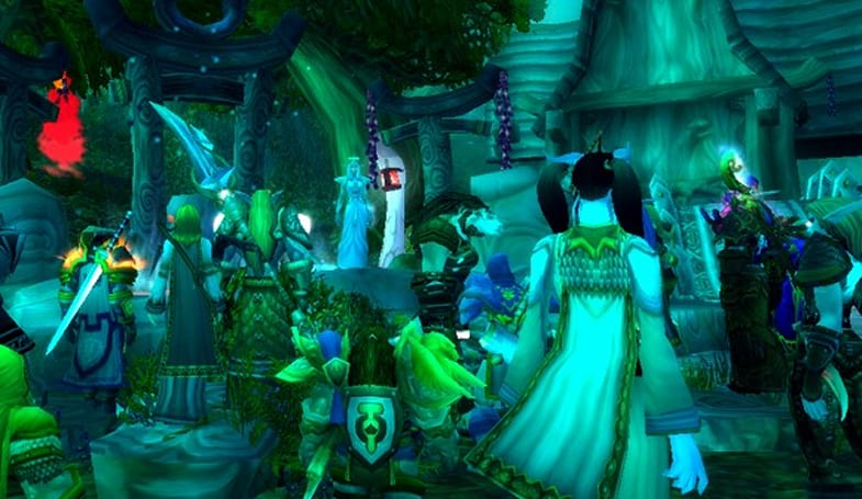 Kaldorei guild brings Darnassus to the fore