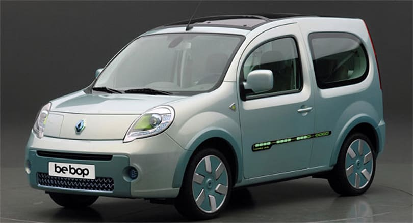Renault's plug-in Kangoo be bop Z.E. features 'printed circuit' motifs, cute as a 390-point breadboard