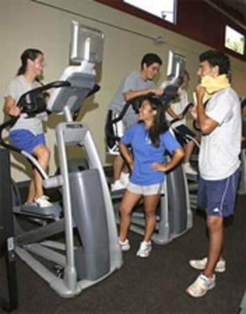 Overtime Fitness gym for teens includes video games