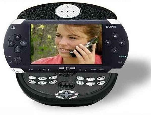 Sony investigating PSP phone?