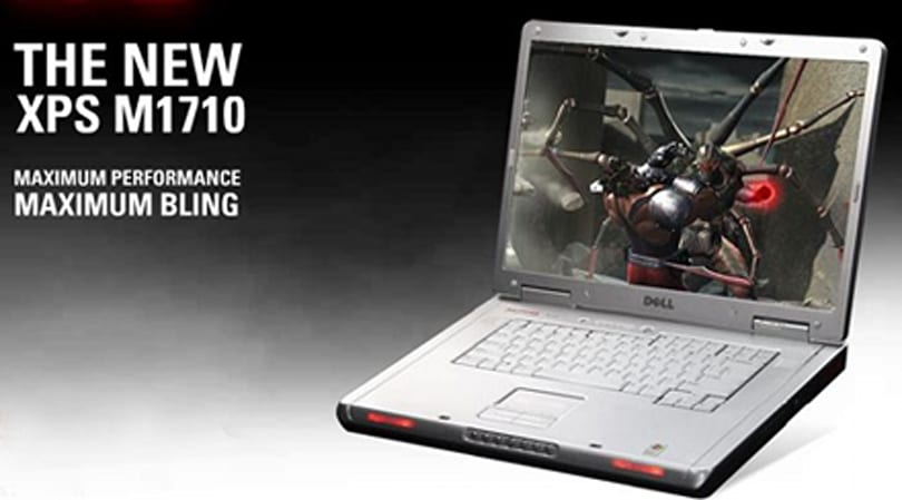 Dell's XPS M1710 notebook gets overclockable Core 2 Duo
