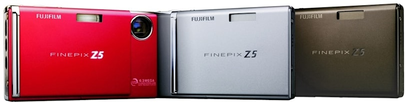 Fujifilm's FinePix Z5: a slim 6.3 megapixel shooter with face finder