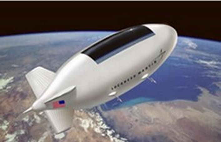 Lockheed Martin to build High Altitude Airship for homeland security