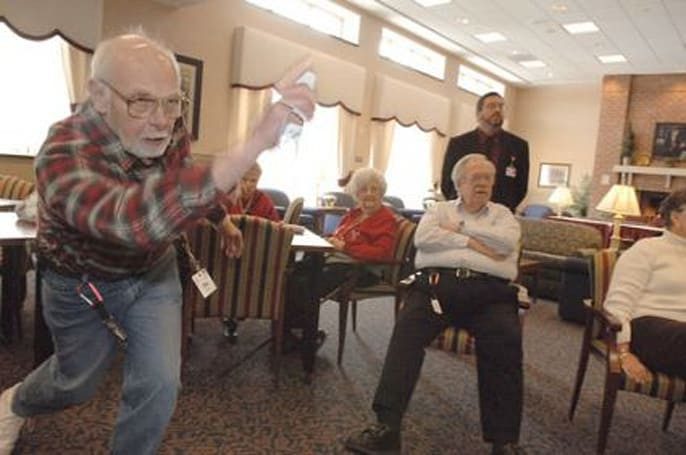 Nintendo's Wii a hit with the geriatric set?