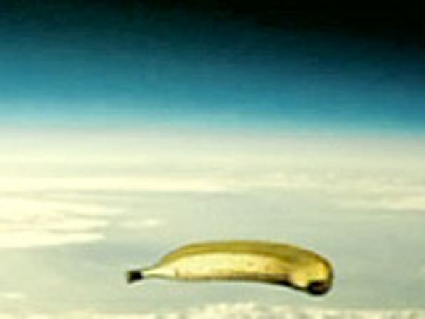 Geostationary banana blimp to hover over Texas?
