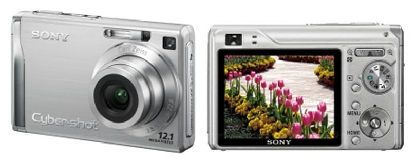 Sony fesses up, Cybershot W series gets official