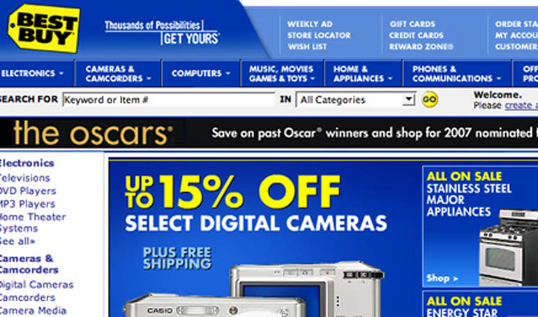 Best Buy's secret intranet site exposed