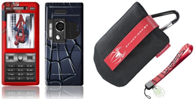 Sony Ericsson launches four Spider-Man-branded handsets
