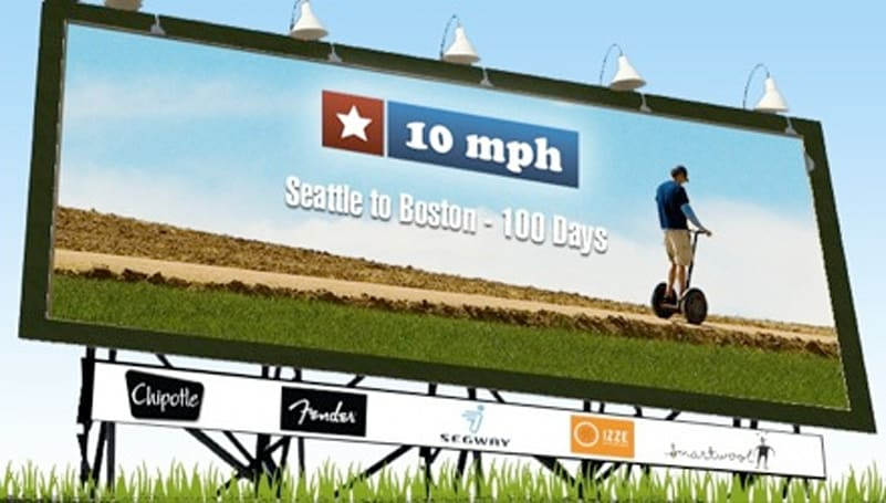10 MPH: Coast to Coast on a Segway in 100 days (and 3 years)
