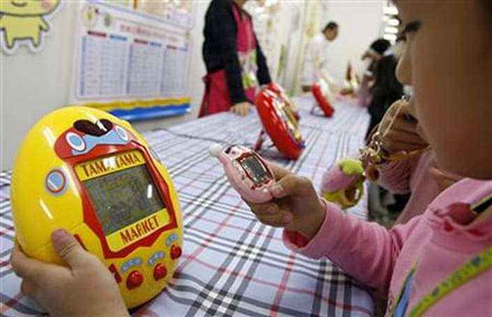 Tamagotchi movie to prove whether kids really <em>will</em> watch anything