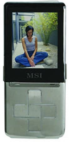 MSI's Bluetooth-equipped MS-5552 DAP goes 50 hours nonstop