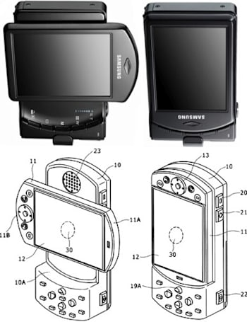 Sony Ericsson's vague patent application making Samsung nervous?