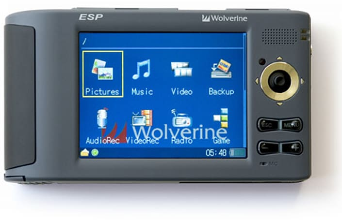 Wolverine's ESP rocks 250GB for your PMP needs