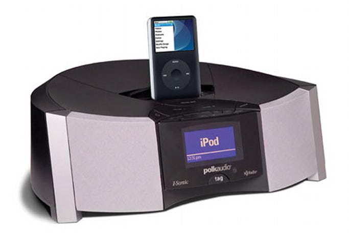 Polk Audio I-Sonic ES2 features iTunes song tagging