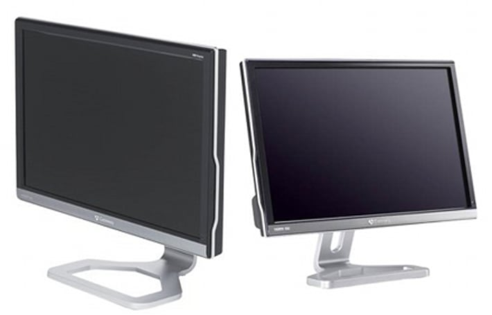 Gateway offers up 22-inch HD2200 / 24-inch FHD2400 LCD monitors