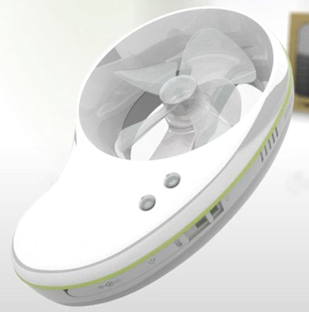 Innovative Hymini charges gadgets using sun, wind, AC, or USB