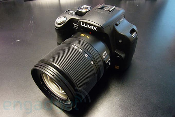 Panasonic's Lumix DMC-L10 gets reviewed: solid, but pricey