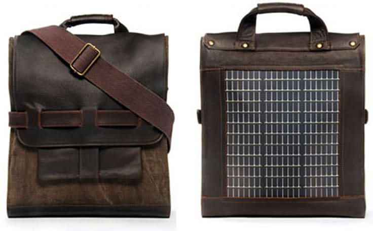 Noon Solar's stylish bag collection charges your gizmos