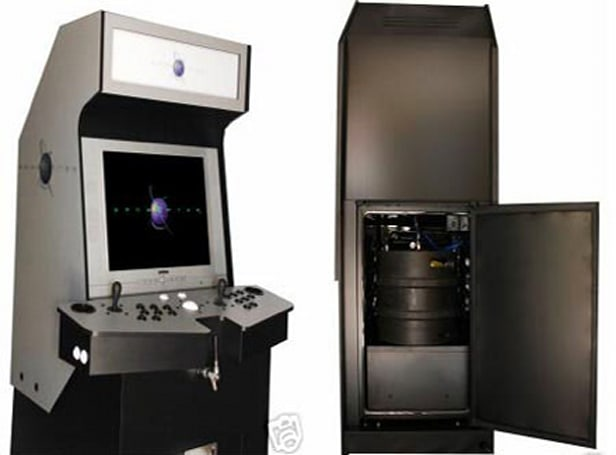 Gamerator MAME cabinet features 187 games, built-in keg