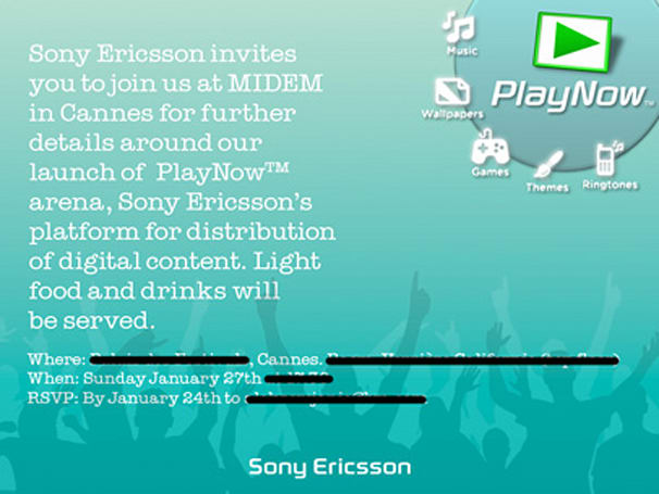 Sony Ericsson's PlayNow Arena coming later this month?