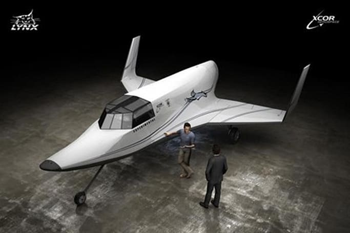XCOR's Lynx aims to enter space tourism business in 2010