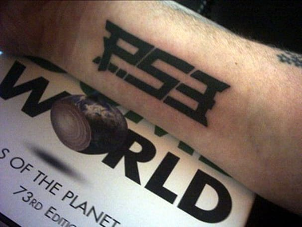 Briton gets world's first PS3 tattoo, has certainly sparked trend