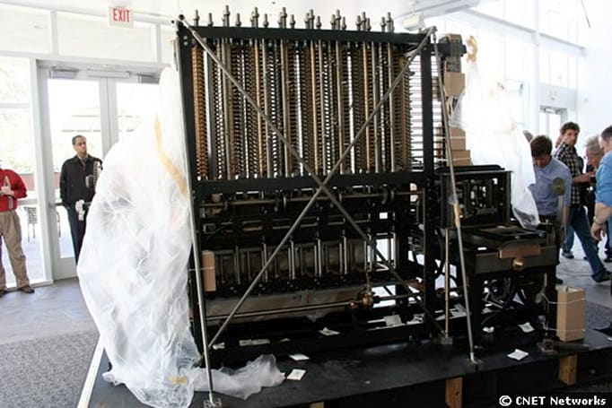 Computer History Museum unboxes a Babbage difference engine