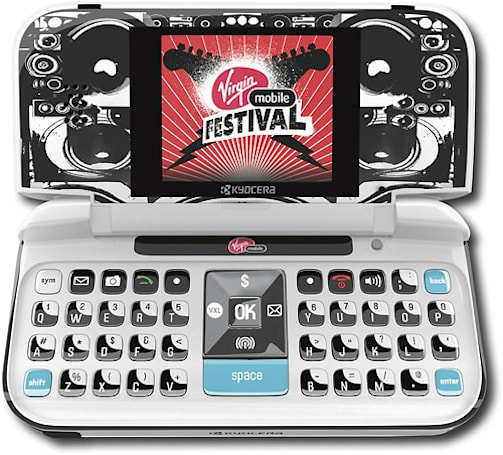 Kyocera cranks with Virgin Mobile Festival Special Edition Wild Card