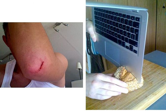 German users claim MacBook Air can cut through bread, flesh