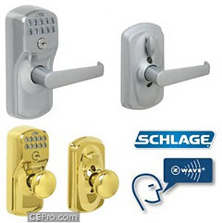 Schlage LiNK web-controlled Z-Wave door locks priced right out of consideration
