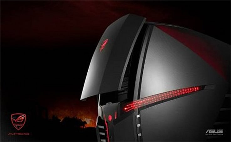 ASUS ARES CG6155 gaming PC: 4.0GHz QX9650, GeForce GTX280, bragging rights