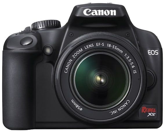Canon's EOS Rebel XS DSLR gets official, a price tag