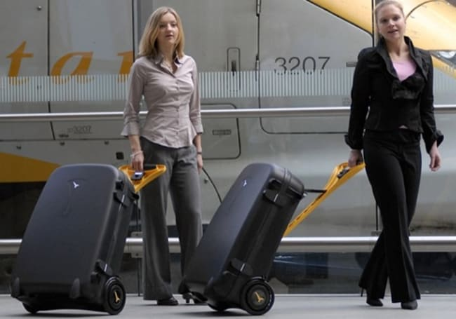 """Power assisted Live Luggage ready to """"world premier"""""""