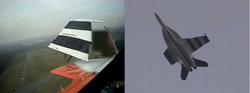 Misplaced wings no sweat for DARPA's new aircraft control system