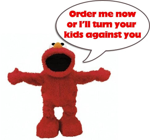 Elmo Live ready for pre-order by dutiful parents
