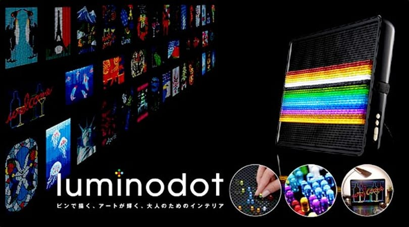 Bandai's Luminodot: 1,600 glass pegs for your child to swallow