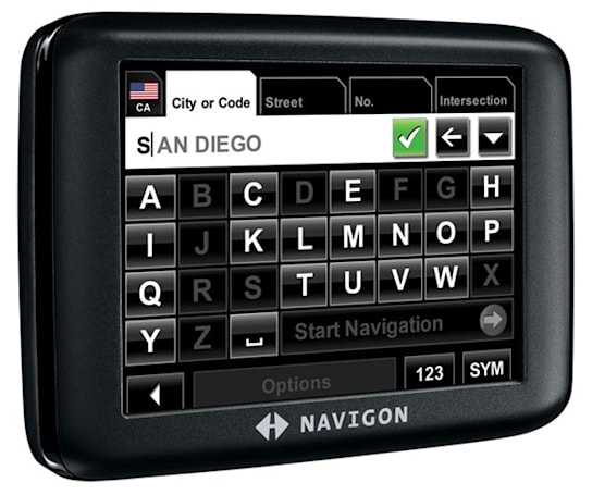 Navigon's 2000S satnav: helps get you home, doesn't break the bank