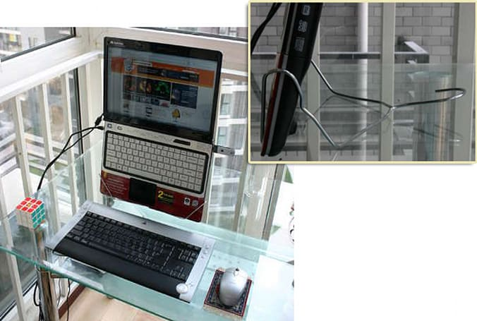 The DIY DumbGuy laptop stand: so easy, even a dumb guy can make it