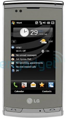 """LG CT810 """"Incite"""" for AT&T gets pictured, we think"""