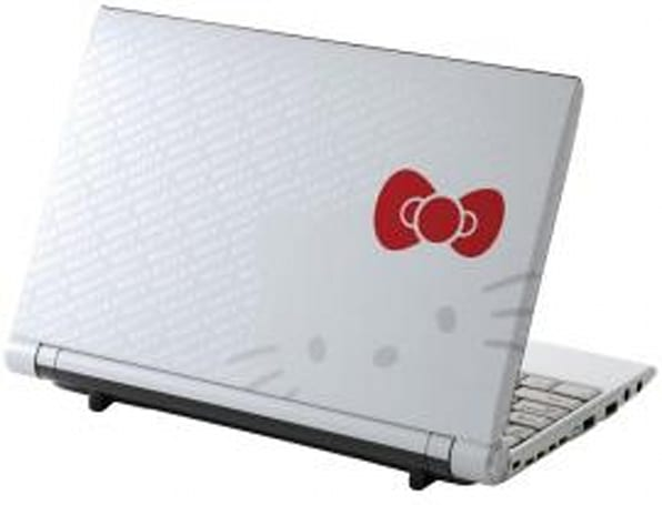 Hello Kitty C1 netbook packs a lotta 'tude into a small package