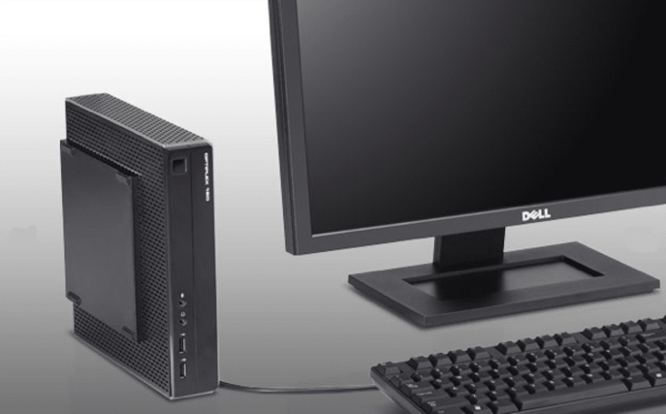 Dell's OptiPlex 160 'Tiny Desktop Computer' is appropriately named